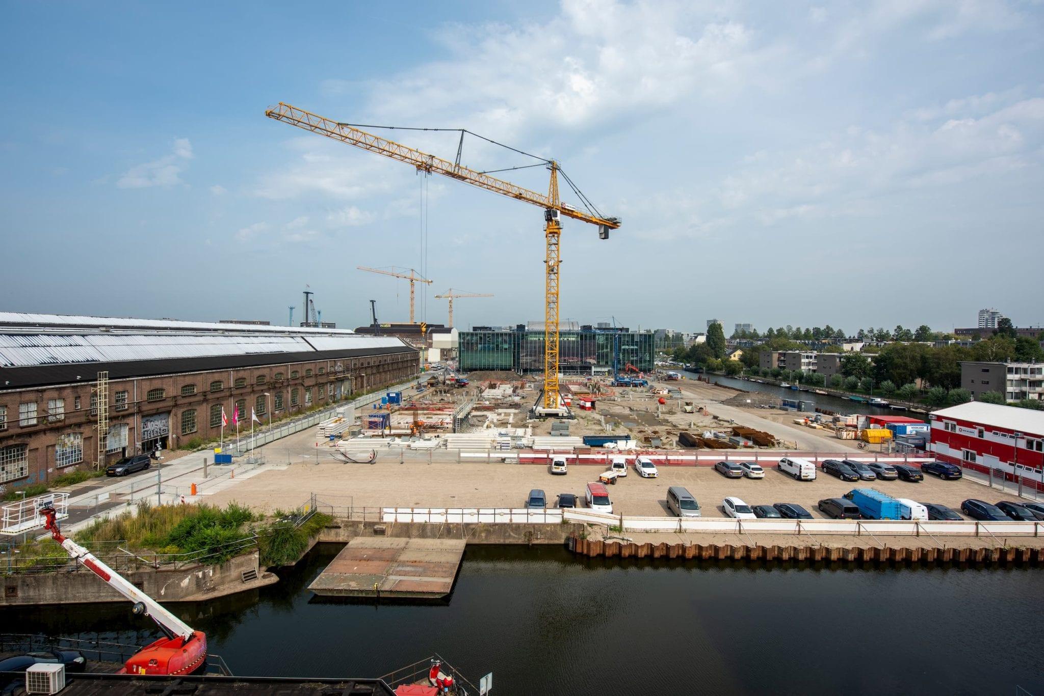 Bouw Oostenburg gestart