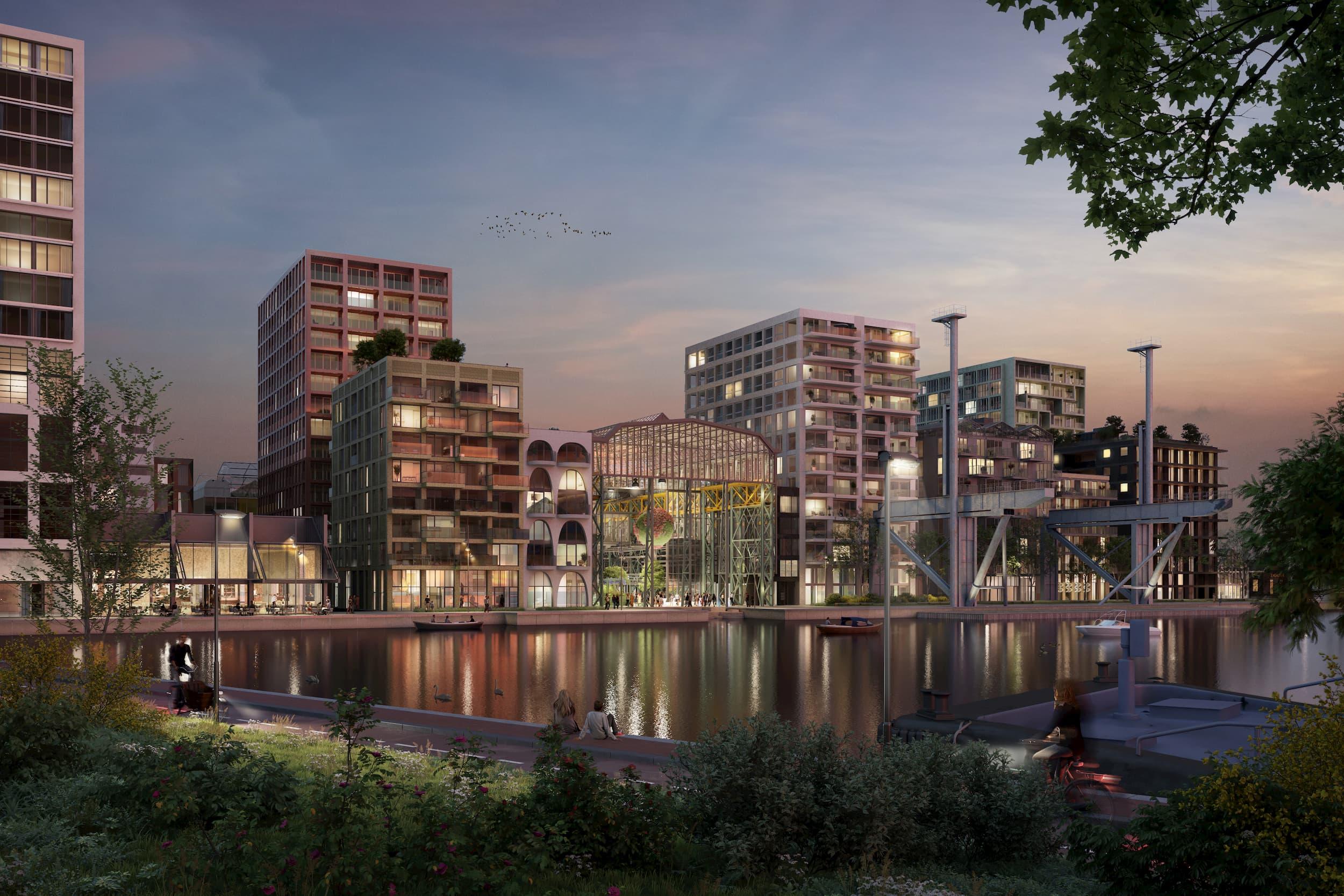 Bouwinvest ontwikkelt 146 duurzame vrije sector huurwoningen