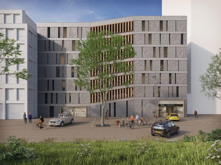 Centraal parkeerhuis Oostenburg
