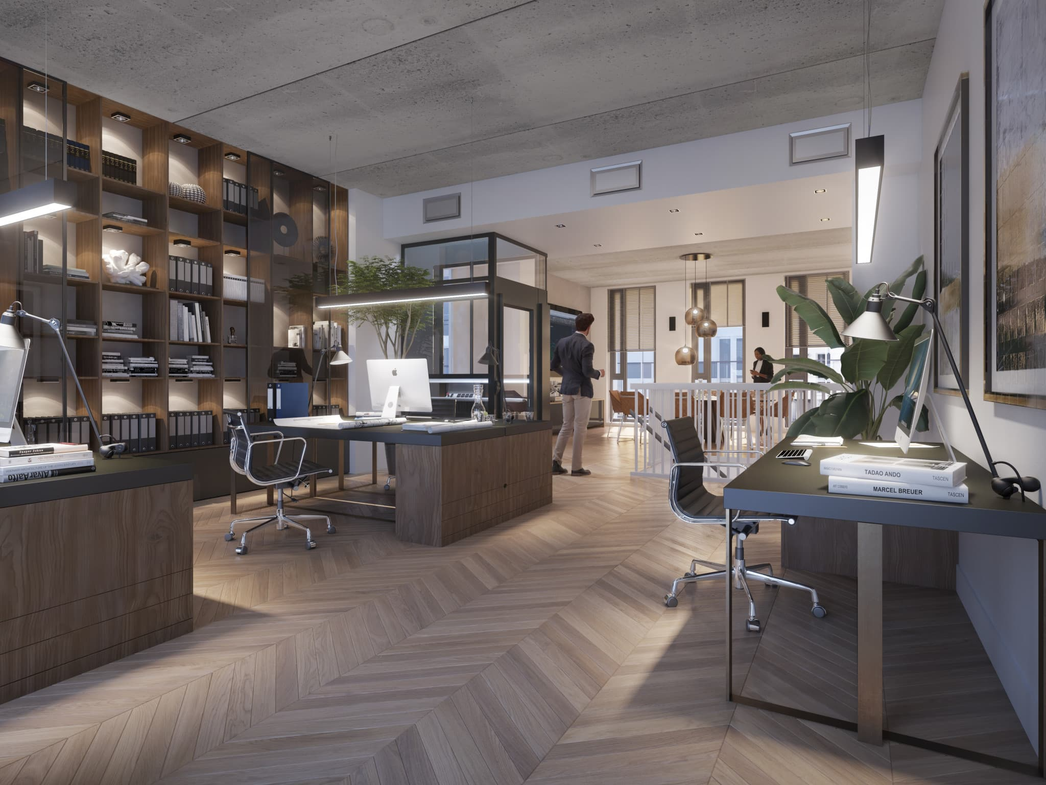 Hoogwaardige kantoren